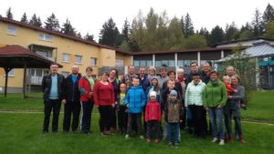 Immer im Jahresprogramm der Kolpingsfamilie Regen: Das Familienwochenende in Lambach. Foto: Barth