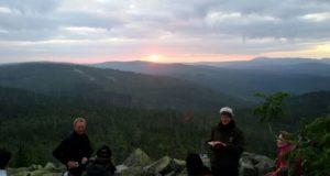 Bergpredigt bei Sonnenaufgang