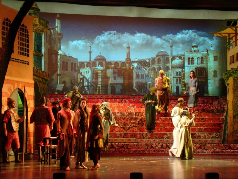 "Kolping besucht das Musical ""Der Medicus"""