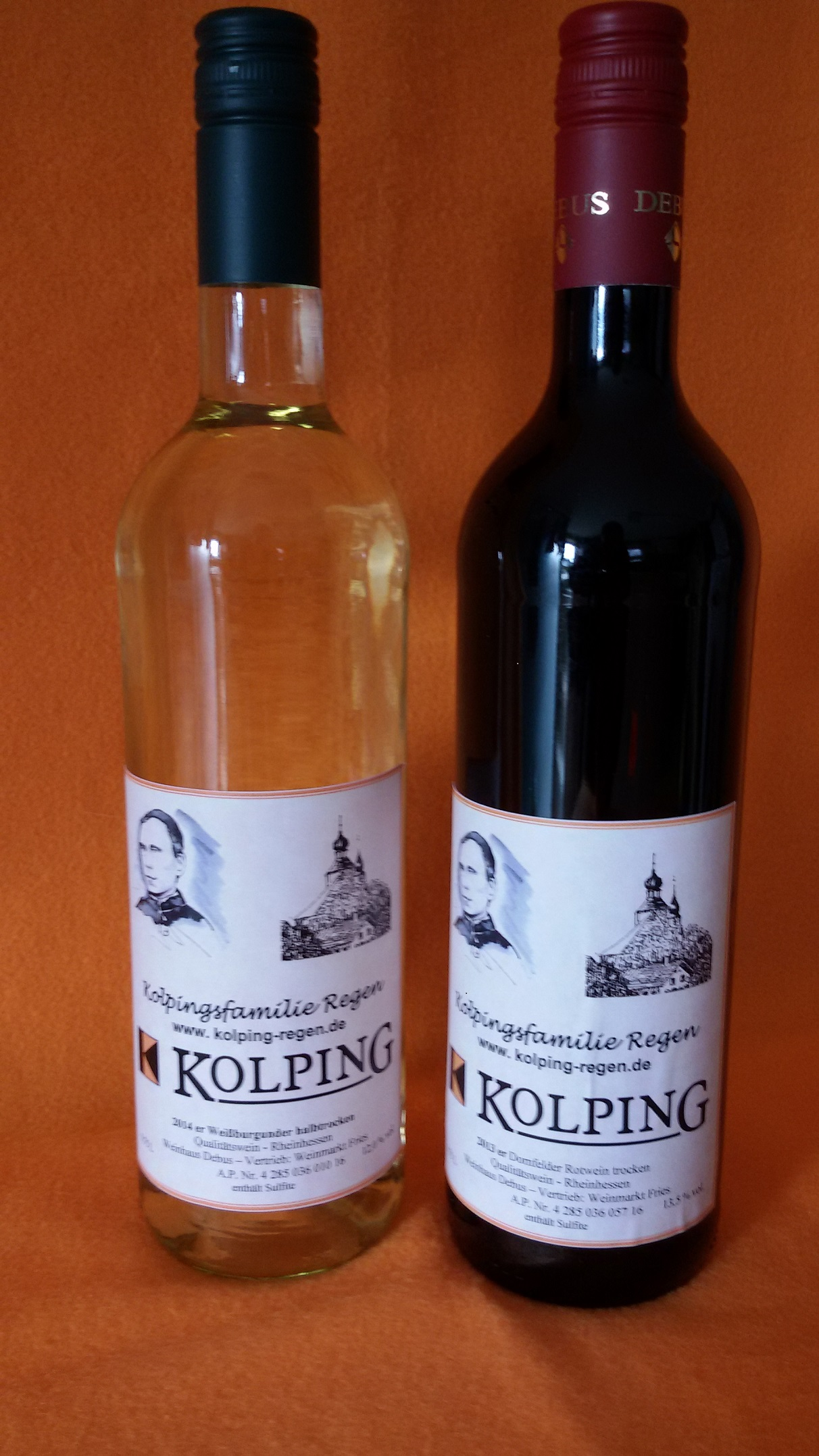 Kolping-Wein in Regen